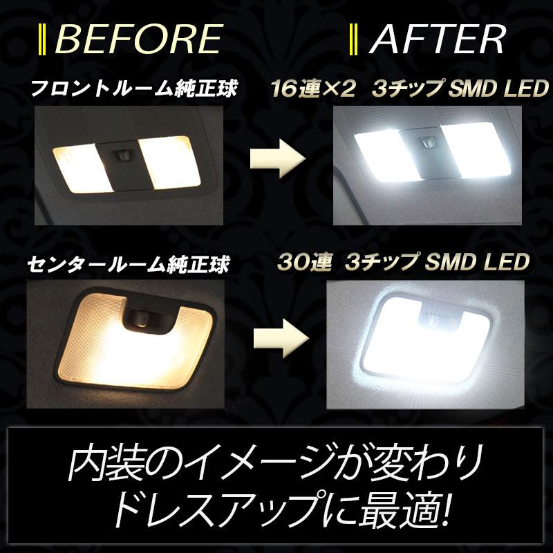 TOYOTA新型タント・タントカスタム・LEDルームランプ_イメージ画像