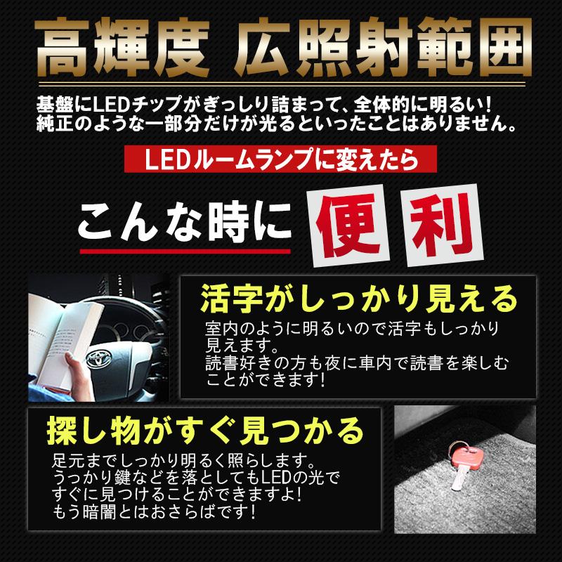 TOYOTA新型タント・タントカスタム・LEDルームランプ_高輝度・広照射・広照h範囲