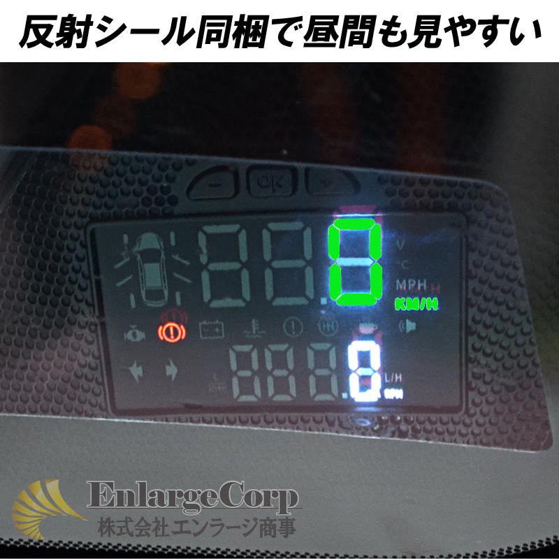 C-HR専用HUDヘッドアップディスプレイ3