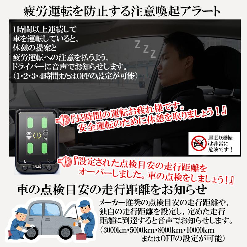 トヨタ車専用音声案内式タイヤ空気圧監視警報システムTPMS_7